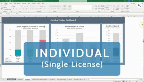 grant loan tracker tool quickbooks qbo excel ppp eidl